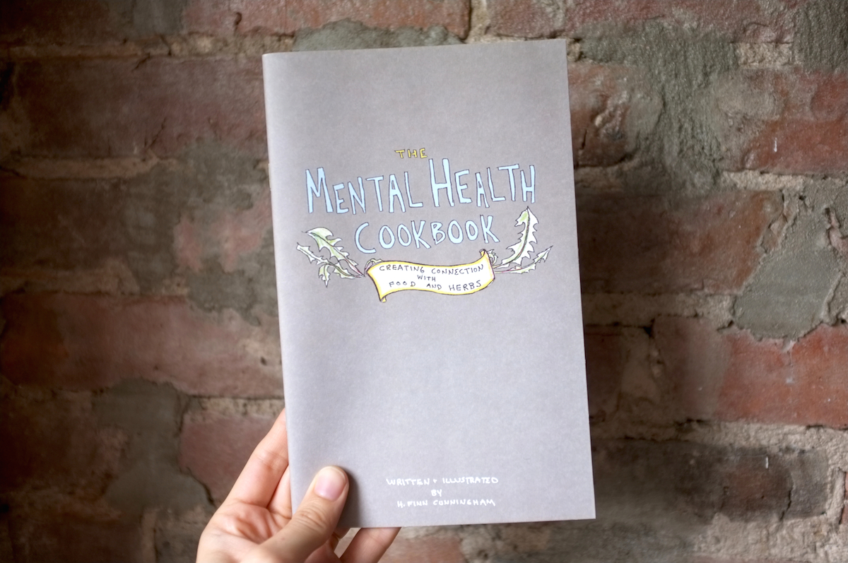 Mental Health Cookbook Cover